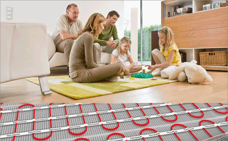underfloor heating warmth manchester