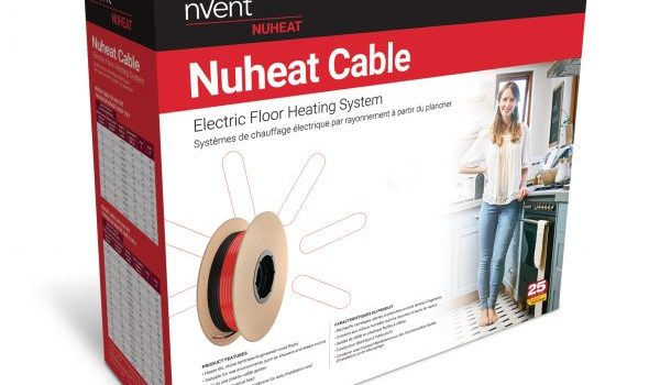 Bathroom Floor Heating with Nuheat Cables